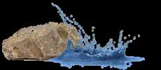 duurzaam-persoonlijk-leiderschap gesymboliseerd door steen en water